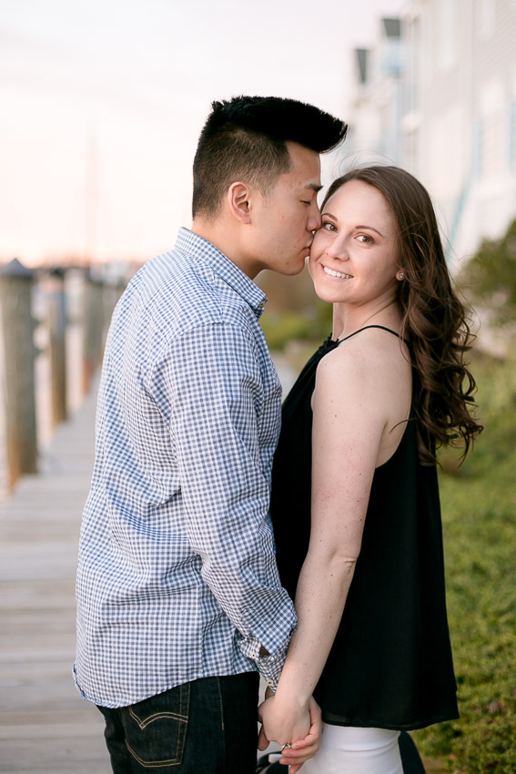 Kevin and Stephanie's Mystic Connecticut Engagement Session