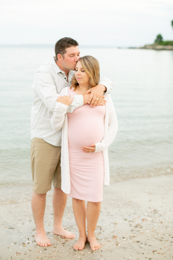 Connecticut Beach Maternity Session