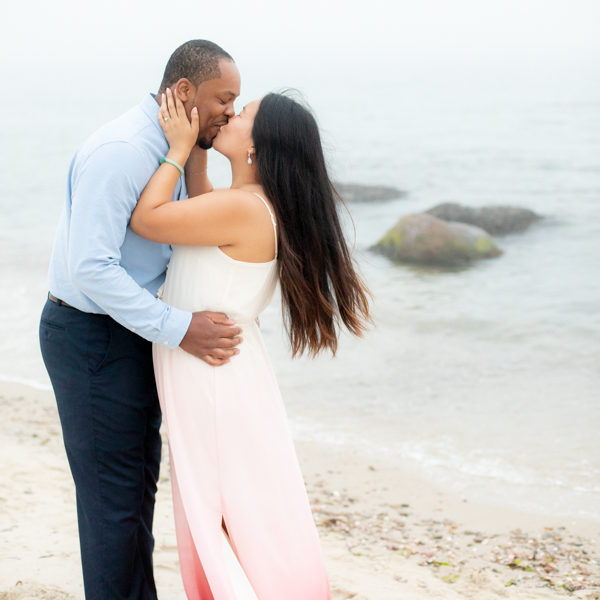 Harkness Memorial Park Engagement Session